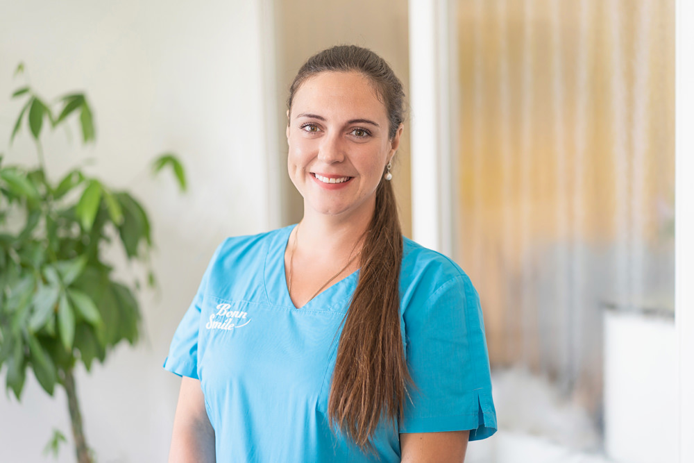 Zahnarzt Bonn-Poppelsdorf - Göbel - Team - Sarah Scheifgen